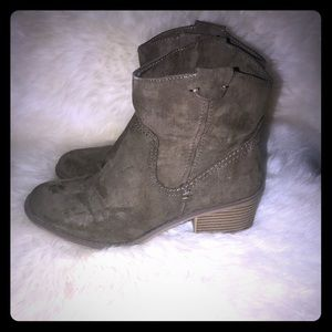 Ankle- Taupe- bootie